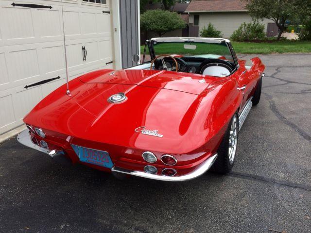 1965 Corvette Restomod Z06 LS6 5 Speed SRIII Frame Baer