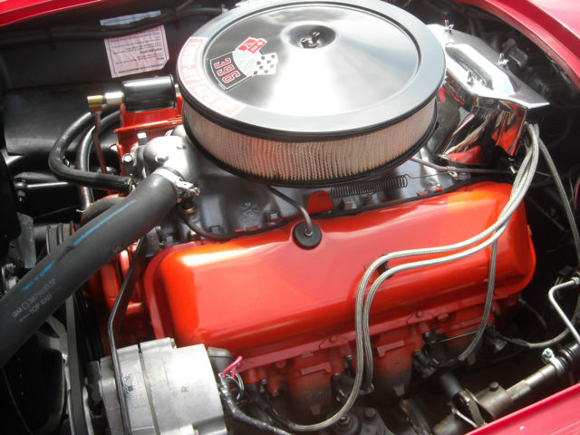 1965 Corvette Sting Ray Manual 4 Spd Coupe 425 396 Hp
