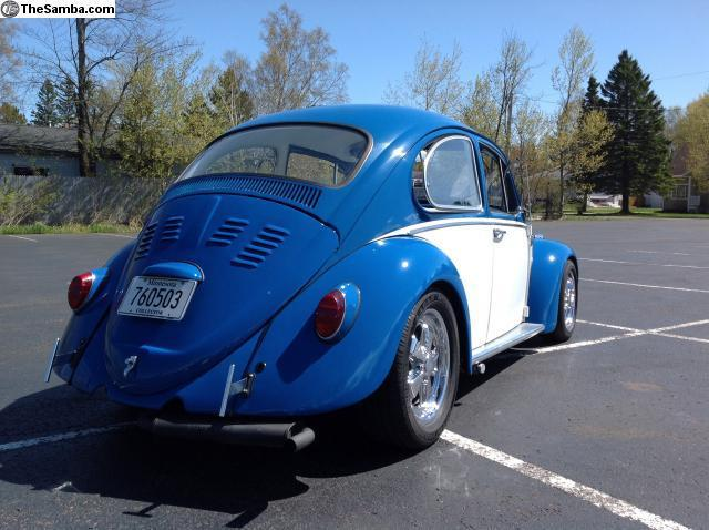 1965 custom vw beetle cal look super clean for sale photos technical specifications description. Black Bedroom Furniture Sets. Home Design Ideas