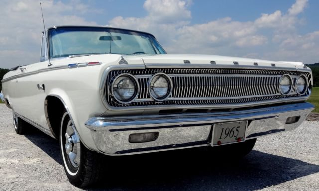 1965 Dodge Coronet 500 Convertible Nice Old Restoration For Sale Photos Technical