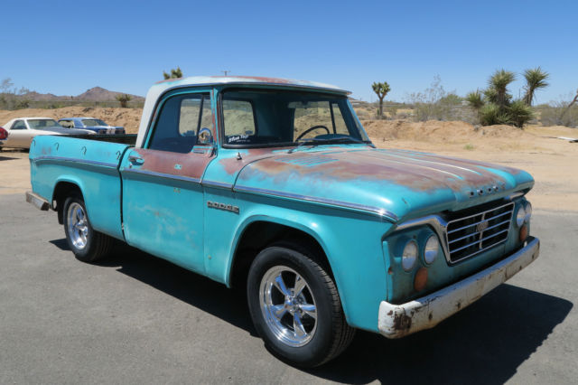 1965 Dodge Other Pickups D100 Sweptline Shortbed 318 Poly V8 Rare !