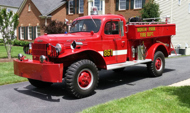 Dodge Trucks For Sale By Owner >> 1965 Dodge Power Wagon Brush Firetruck Fire Truck for sale: photos, technical specifications ...