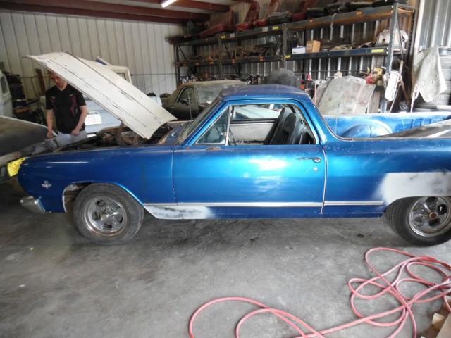 1965 El Camino Fresh 355 Engine Solid Body Need S Paint