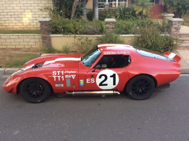 1965 Shelby 1965 FFR Daytona Coupe Race Car Street Legal CA SB100