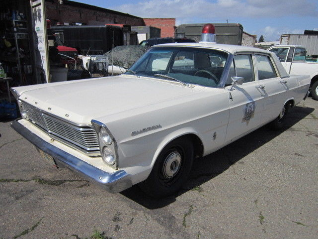 1965 Ford Custom Movie Police Car Galaxie