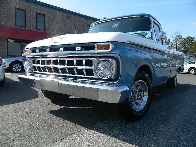 1965 Ford F-100 Long Bed Truck