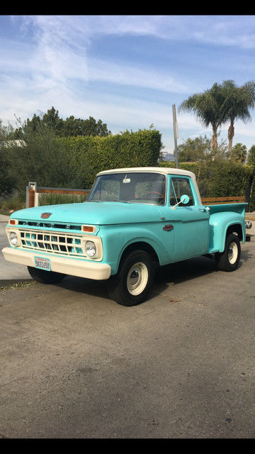 1965 Ford F-100 Base Standard Cab Pickup 2-Door