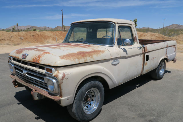 1965 Ford F-250 @ NO RESERVE 390 V8 CLEAN CALIFORNIA CUSTOM CAB