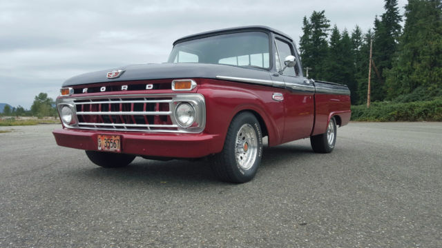1965 ford f100 short bed pickup truck restored classic hot rod for sale photos technical. Black Bedroom Furniture Sets. Home Design Ideas