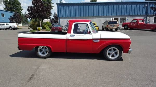 1965 ford f100 shortbed 429 top loader 4speed classic hot rod pickup truck for sale photos. Black Bedroom Furniture Sets. Home Design Ideas