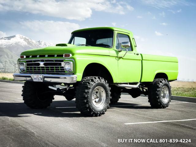 F250 Short Bed For Sale >> 1965 Ford F250 Highboy Monster 4wd Short Bed Fresh 460 V8