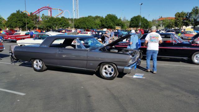 1965 Ford Fairlane 500 Sport Coupe Dark Metallic Gray