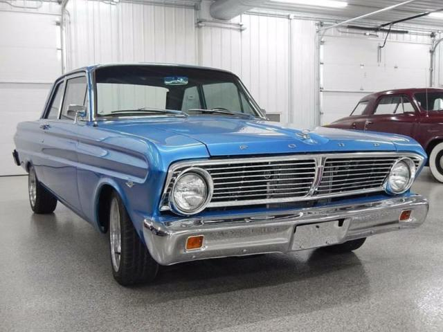 1965 FORD FALCON  70 Miles BLUE  289 4-Speed Manual