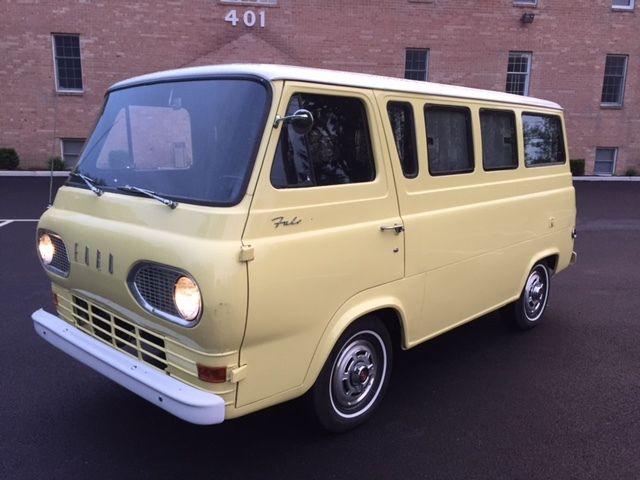 1965 Ford Falcon Econoline Camper Van For Sale Photos Technical