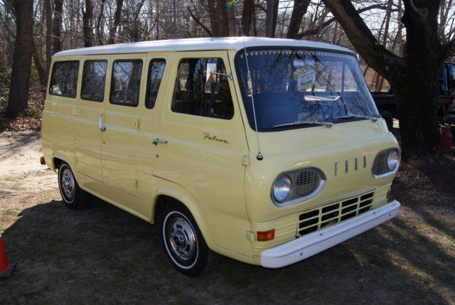 1965 Ford Falcon Econoline Camper Van Rare Must See Rv Inline