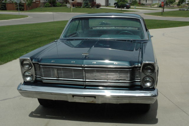1965 Ford Galaxie 2 Door Coupe