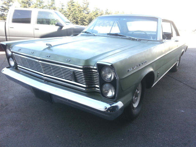 1965 ford galaxie 500 fastback big block automatic original green complete for sale photos. Black Bedroom Furniture Sets. Home Design Ideas