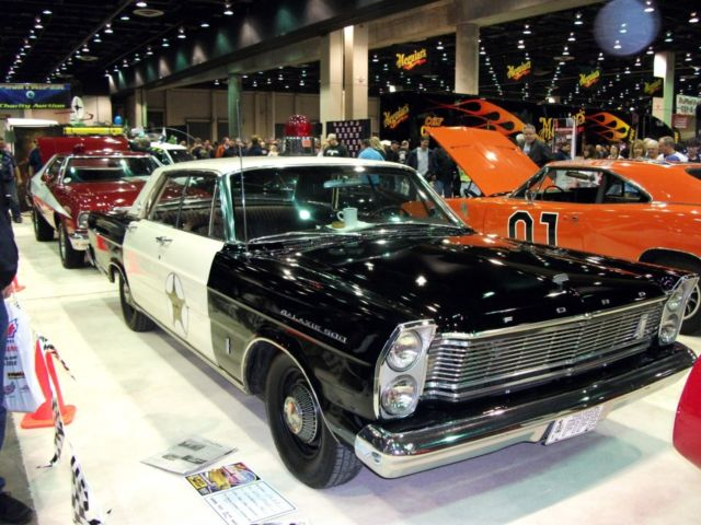 1965 Ford Galaxie 500 Police Car
