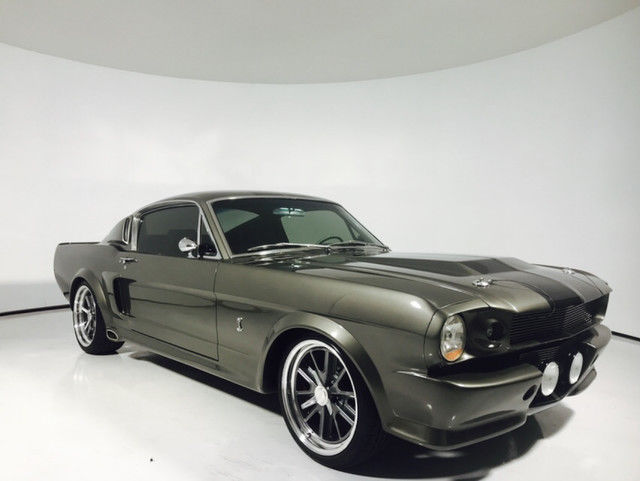 Ford Gt Fastback Shelby Eleanor Stripe Stereo