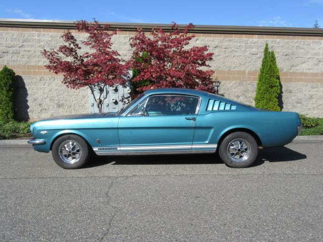 1965 Ford Mustang Mustang 2+2 GT Fastback K-Code