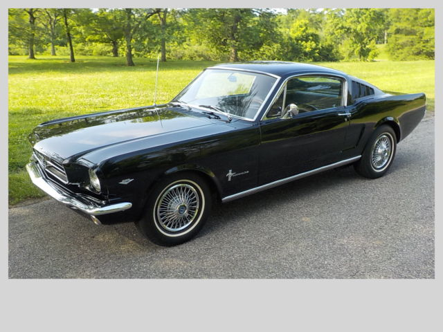 1965 Ford Mustang *NO RESERVE** 2+2 Fastback 4-Speed