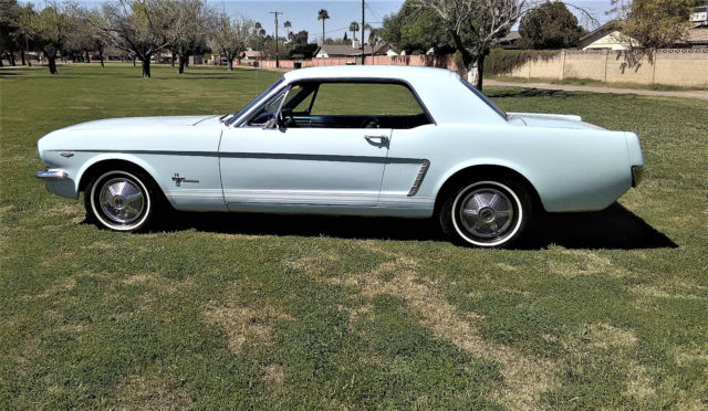 1965 Ford Mustang ROTESSERIE  RESTORED TO ORIGINAL ON LOW MILAGE CAR