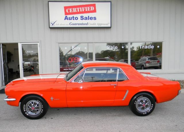 1965 Ford Mustang pony