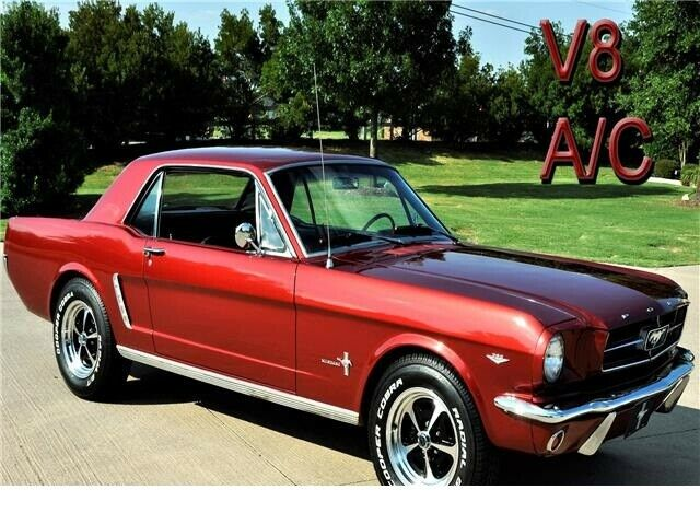 1965 Ford Mustang  87,500 Miles COPPER Coupe V8 4.7L Automatic