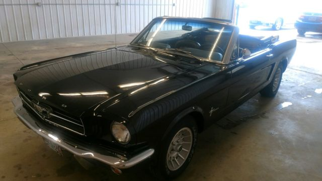 1965 Ford Mustang Base Convertible 2-Door