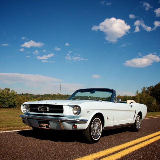 1965 Ford Mustang C-code Convertible