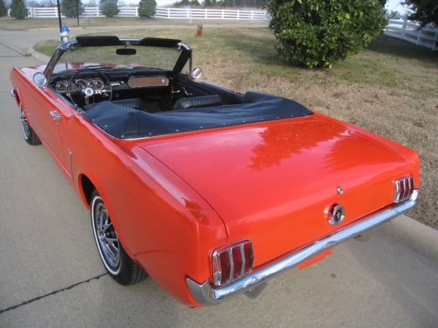 1965 ford mustang convertible 289 v8 4 speed w pony interior for sale photos technical