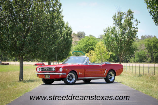 1965 Ford Mustang Convertible A Code 289 4bbl auto magnums