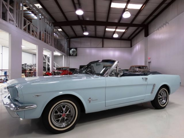 1965 Ford Mustang BEAUTIFUL RESTORATION! FACTORY C-CODE 289 V8!