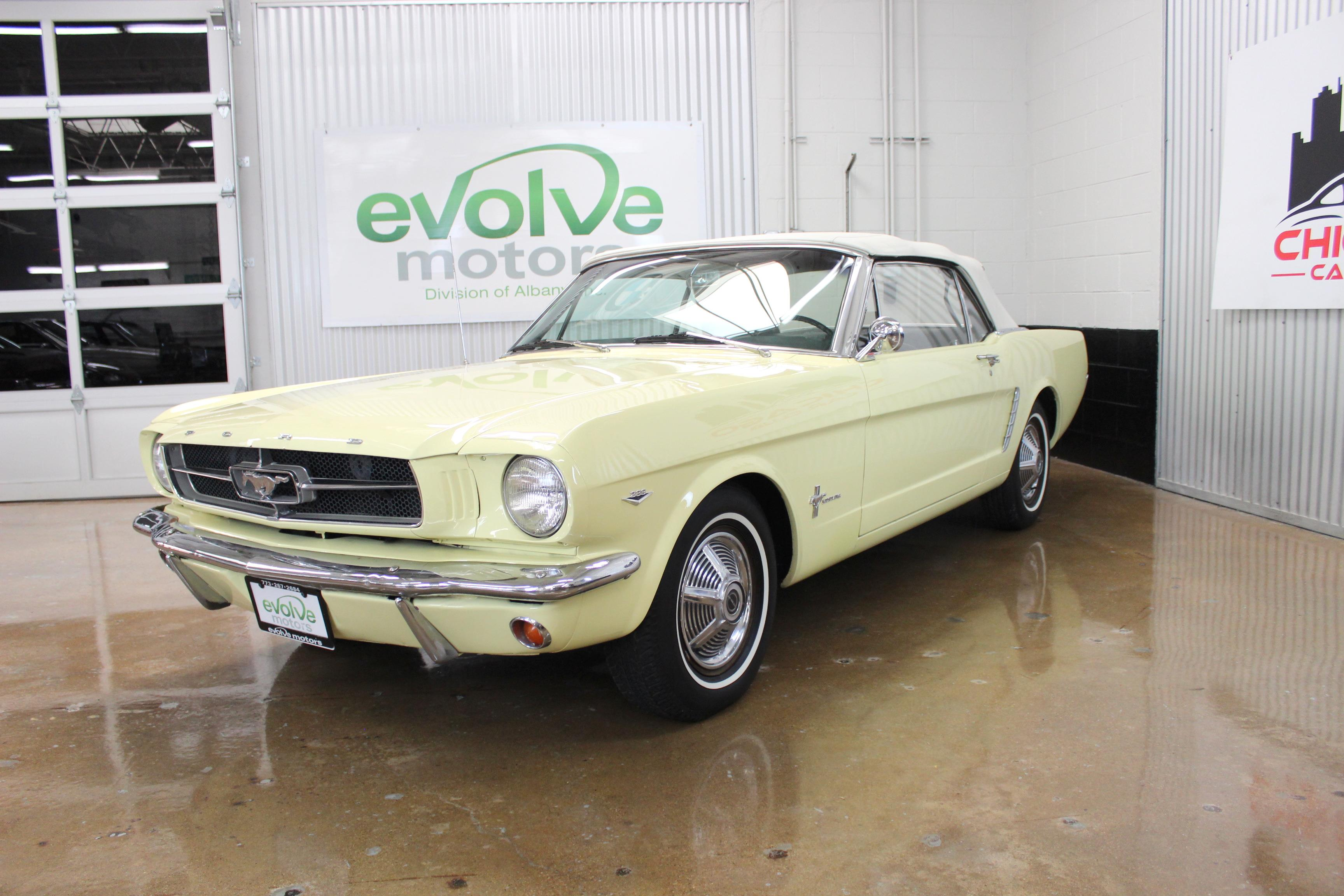 1965 Ford Mustang Convertible Factory AC FULLY DOCUMENTED ORIGINAL
