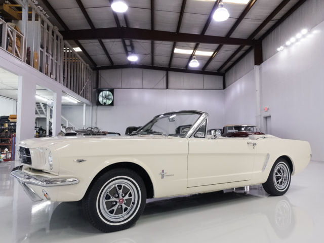 1965 Ford Mustang Convertible, 49,471 ORIGINAL MILES! STUNNING!
