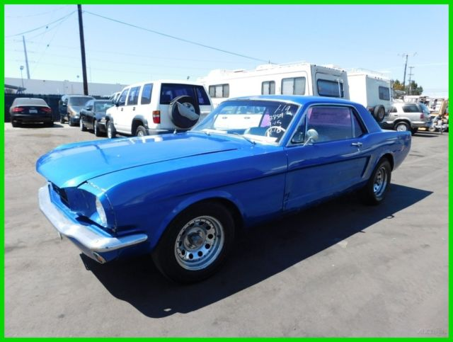 1965 Ford Mustang Coupe 6-Cylinder Automatic NO RESERVE