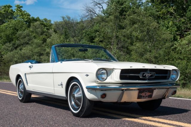 1965 Ford Mustang Mustang D-code Convertible
