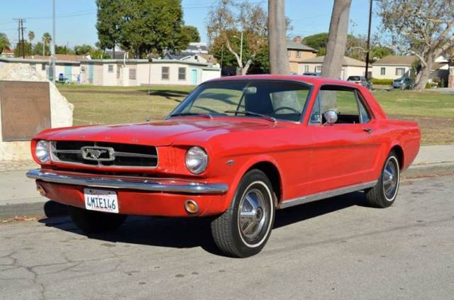 1965 Ford Mustang D-Code Coupe