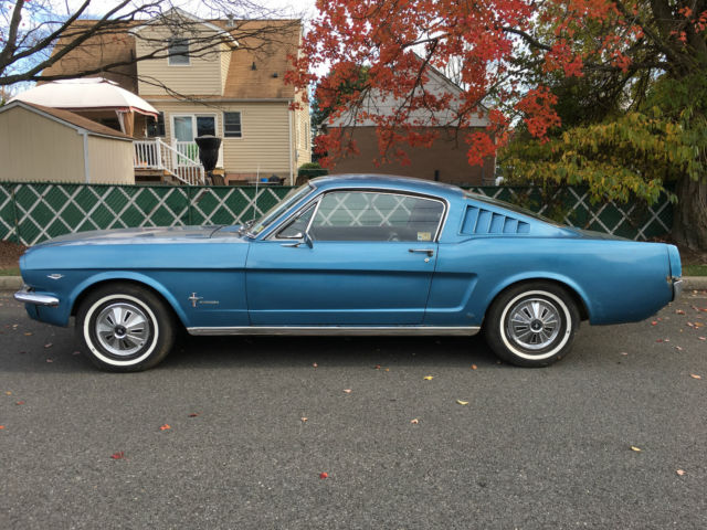 1965 Ford Mustang MUSTANG FASTBACK 2+2