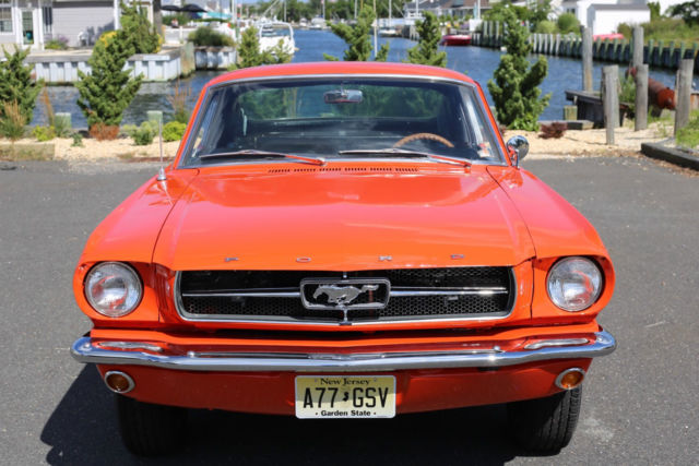 1965 Ford Mustang Fastback 2+2 - Poppy Red - Fully ...