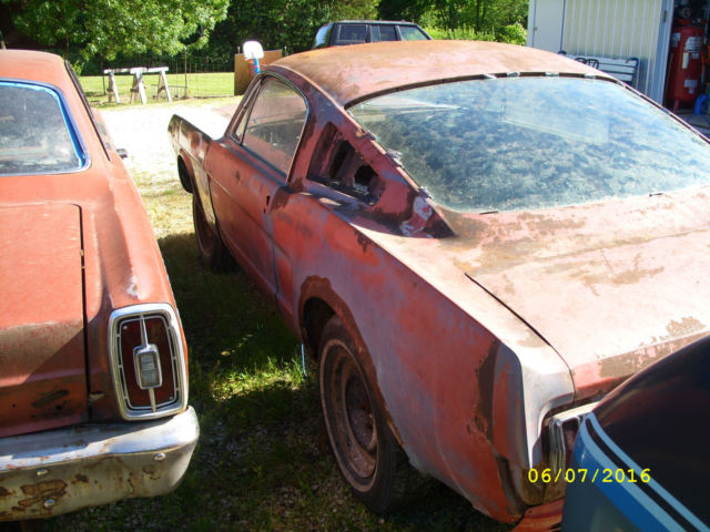 1966 Mustang Parts >> 1965 Ford Mustang Fastback 4 Speed Project Parts Car 1966 For Sale