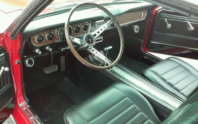 1965 Ford Mustang Fastback A Code Gt Ps Pdb Vintage Air A C Pony Interior Look For Sale Photos