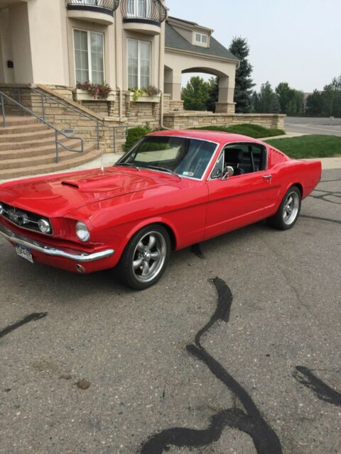 1965 Ford Mustang fastback twin turbo