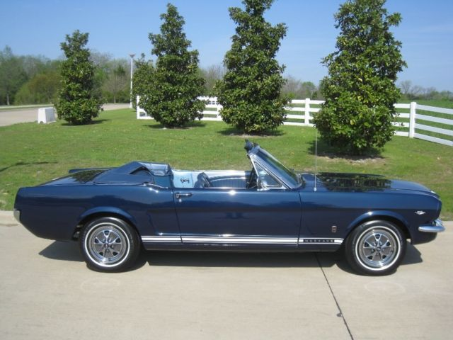 1965 Ford Mustang GT 4-Speed Convertible