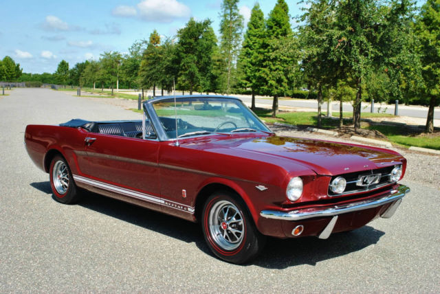 1965 Ford Mustang GT Convertible 4-Speed Restored! Rare Classic!