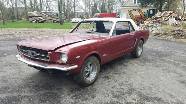 1965 Ford Mustang Base Hardtop 2-Door