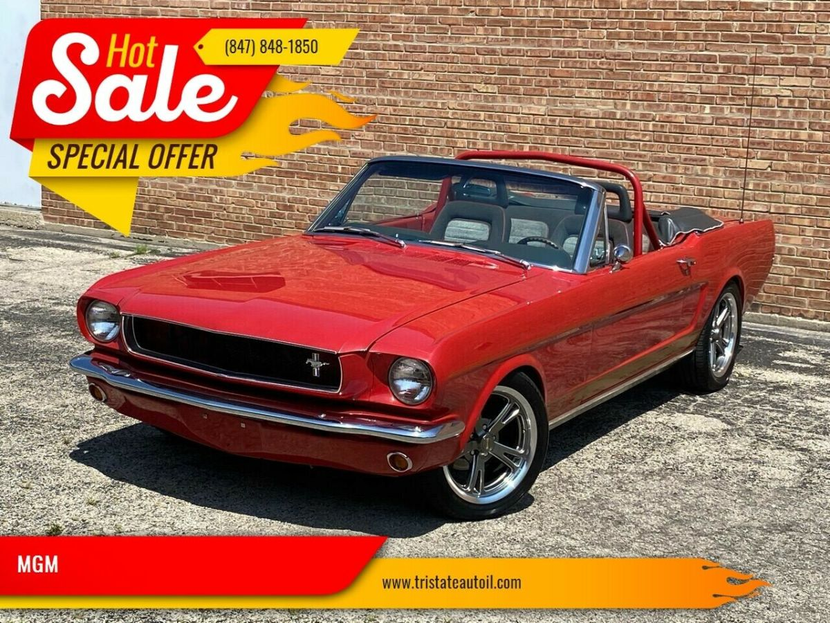1965 Ford Mustang REAL D CODE RESTORED RESTOMOD CONVERTIBLE