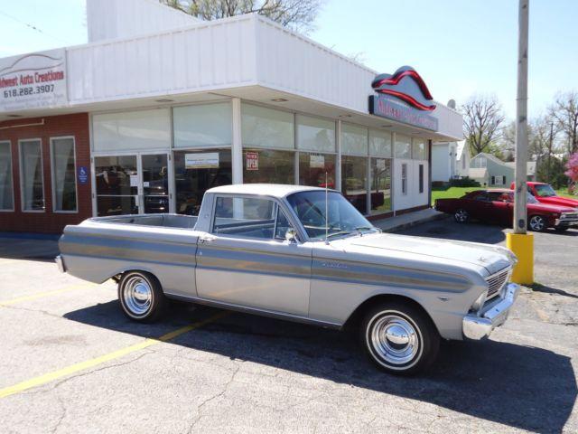 1965 ford ranchero 289 4 speed