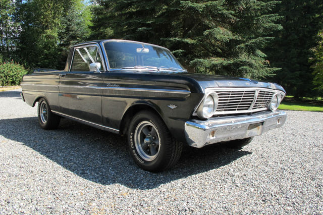 1965 ford ranchero 289 4 speed with many parts