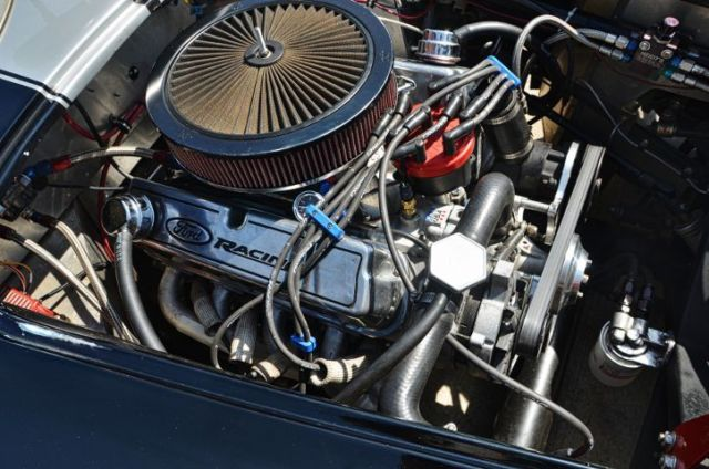1965 Black Ford Mustang Factory Five -- with -- interior
